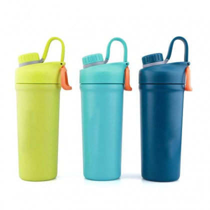 Vacuum Fitness Flask Shaker Bottle 850ml
