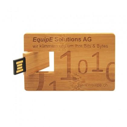 Custom Wooden Card USB Pen Drive
