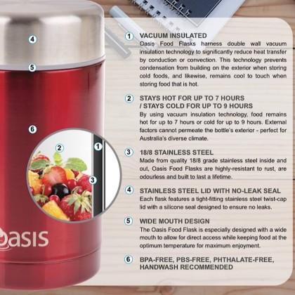 Oasis Food Flask 450ml