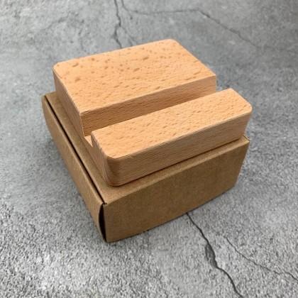 Wooden Desktop Phone Holder