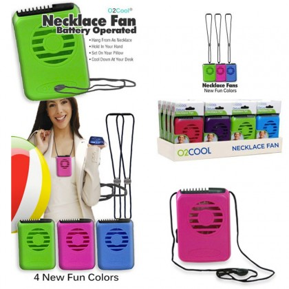 O2Coold Deluxe Necklace Fan