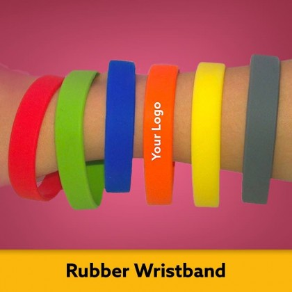 Silicone Colour Wristband