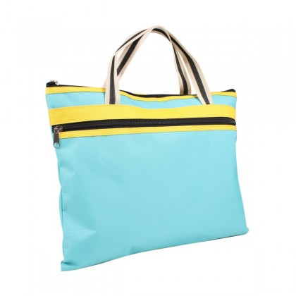 Tenny Document Bag With Zip