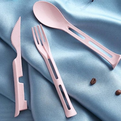 Compact Travel Cutlery Set