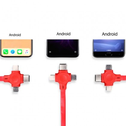 Travel Retractable Mobile Phone Charging Cable